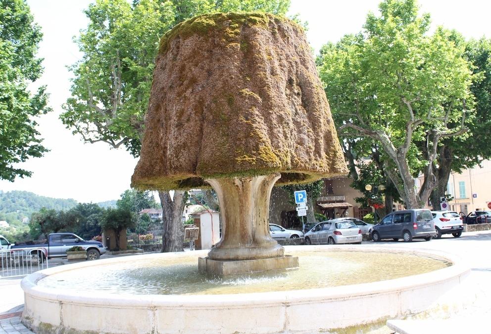 fontaine provence verte