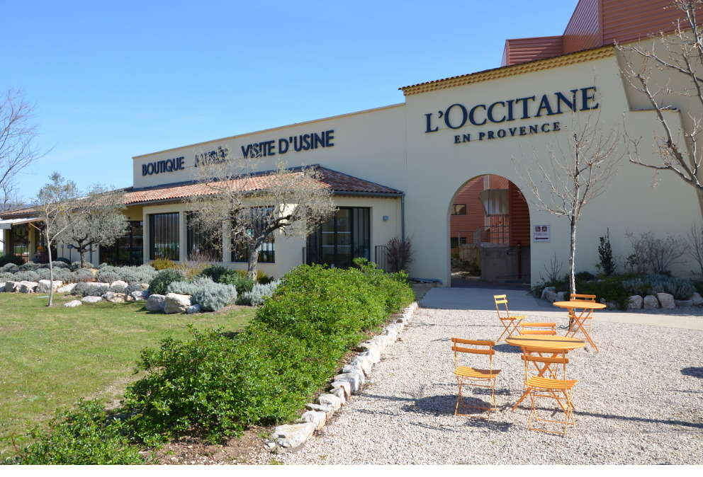 occitane en provence usine manosque