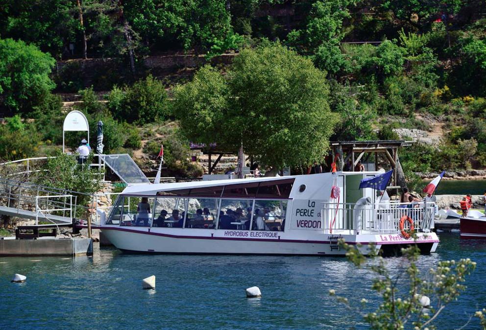 bateau lac esparron