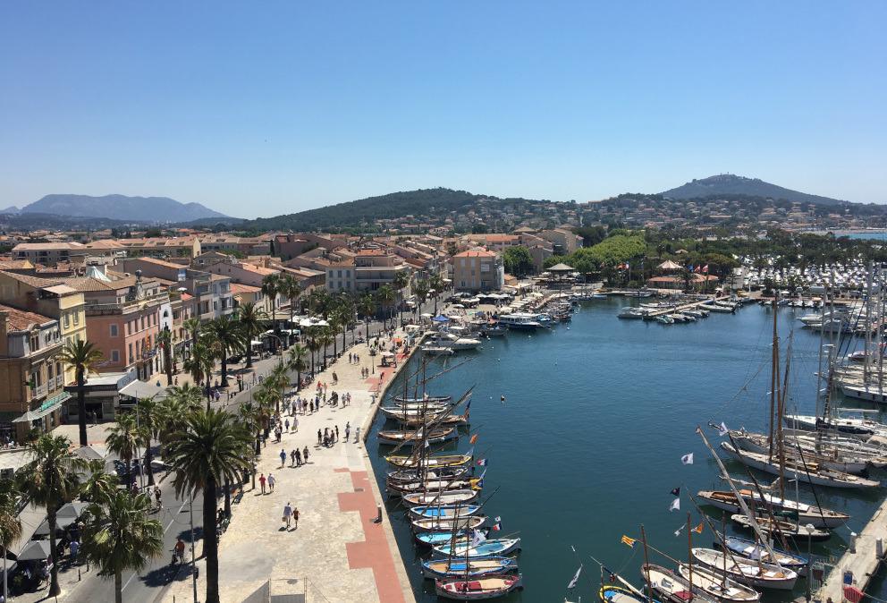 vue tour port sanary sur mer